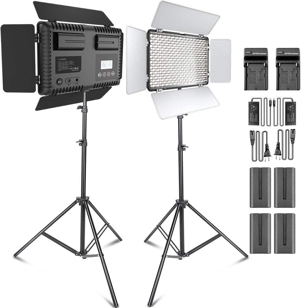 LEDビデオ照明キット